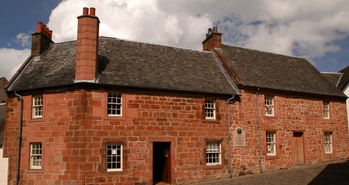 Burns House Mauchline2011