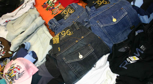 Counterfeit Clothing