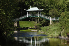 Chinese Bridge at Dumfries House