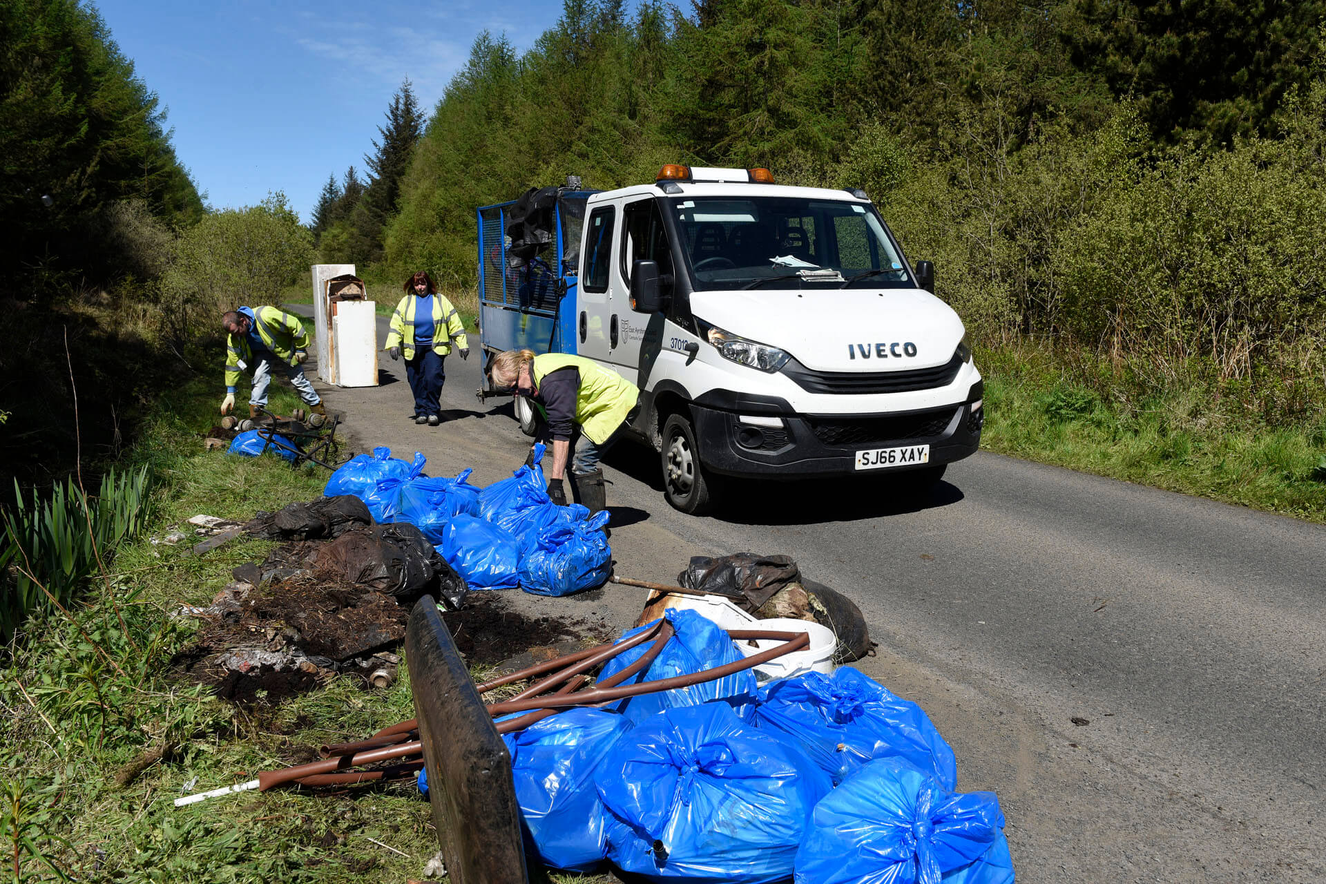 Report fly-tipping